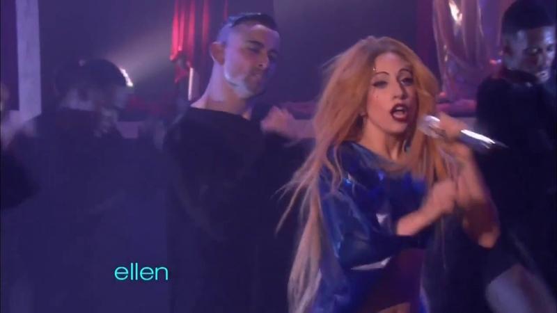 Lady GaGa - Judas (The Ellen Show 2011)