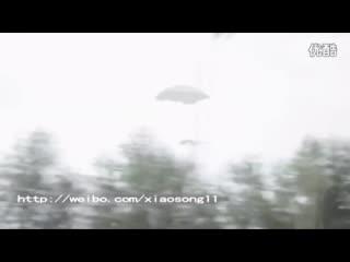 В Китае засняли посадку НЛО и живого пришельца - видео очевидцев 2018 HD (UFO)