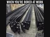 Когда скучно на работе