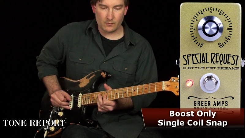 Greer Special Request D-Style FET Preamp