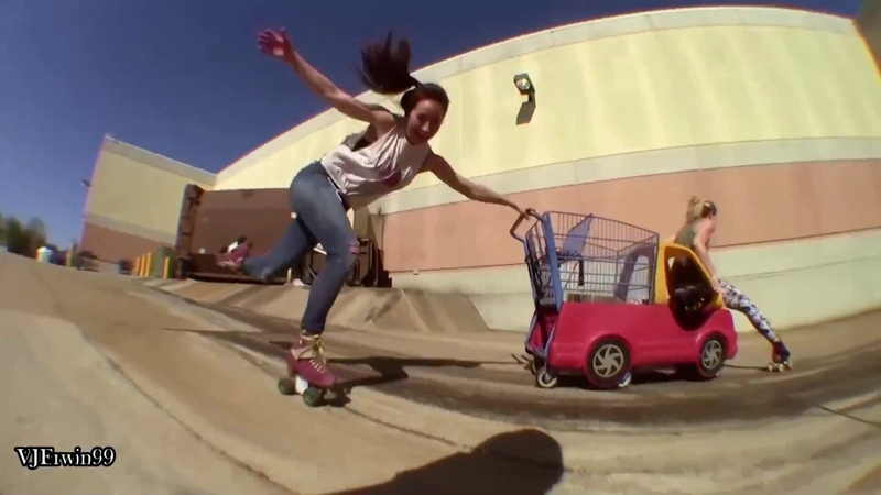 Moxi girls roller skate team Michelle Steilen skating video 2018