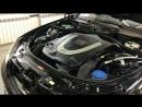 Mercedes-benz w221/ детейлинг двигателя