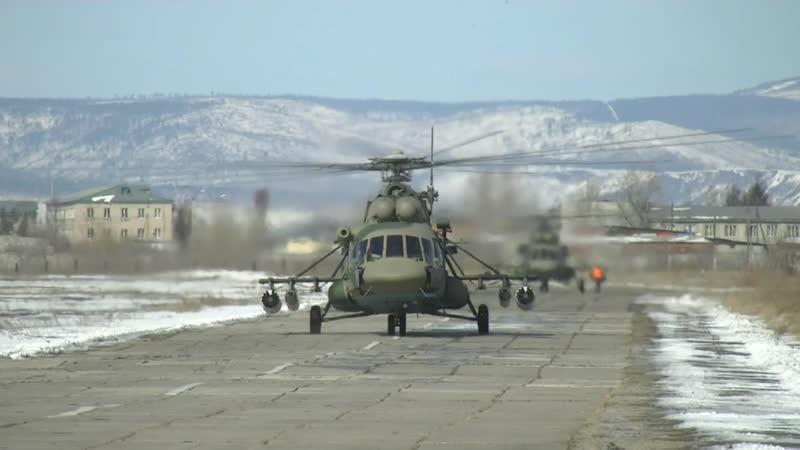 Военнослужащие показали высокие результаты во время учений на полигонах Забайкалья и Бурятии