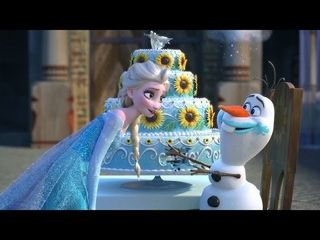 Olaf's Frozen Adventure (2018) - Elsa and Anna - Best Scens