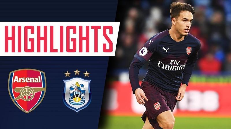 Huddersfield Town 1-2 Arsenal | Goals and highlights
