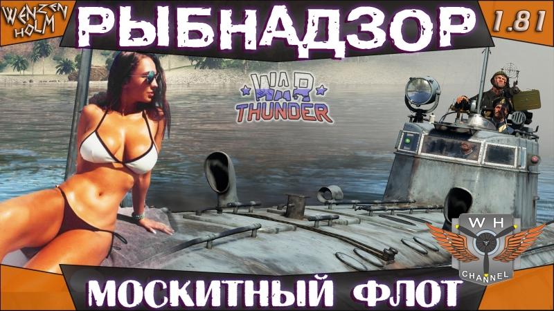РЫБНАДЗОР или Москитный флот War Thunder [1.81] ✓