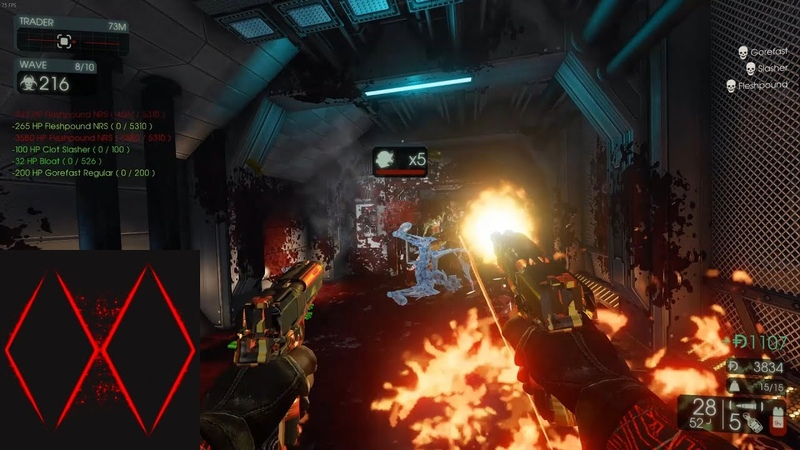 Killing Floor 2 HoE 6P Containment Station Gunslinger 7-10 Waves (ASL_V1)