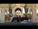 Встреча епископа Тихона (Шевкунова) с прихожанами храма прп. Сергия в Солнцево