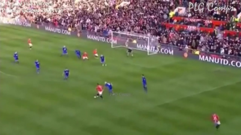 Cristiano Ronaldo - all 118 goals for Manchester United