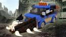 ЛЕГО САМОДЕЛКА - МАШИНА ЗОМБИ АПОКАЛИПСИС / Обзор машины против зомби из LEGO