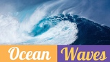 Peaceful Ocean Waves Sounds Nature Sounds No Music To Relax, Meditate, Study, Concentrate, Calm