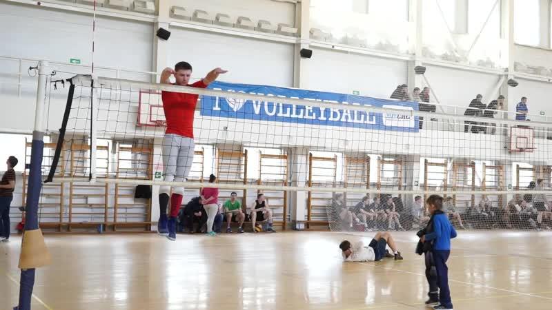 Тест прыжка на волейбольную сетку