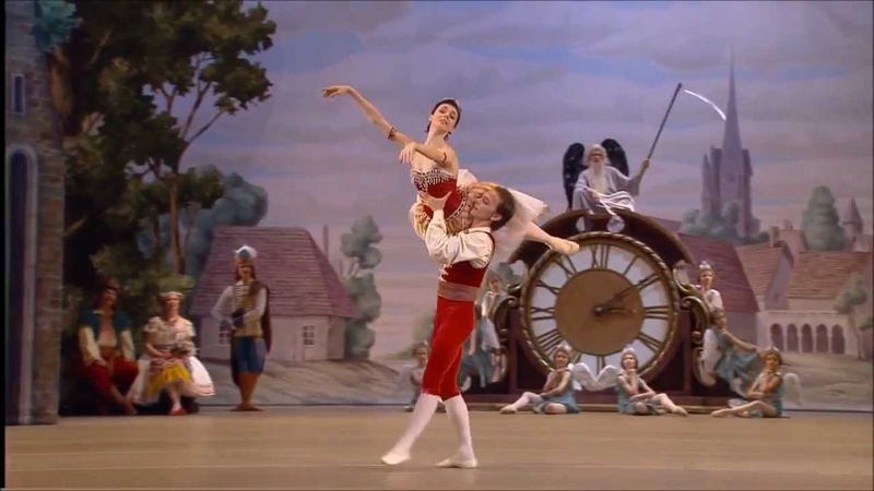 Coppelia Grand Pas de Deux- Natalia Osipova and Vyacheslav Lopatin