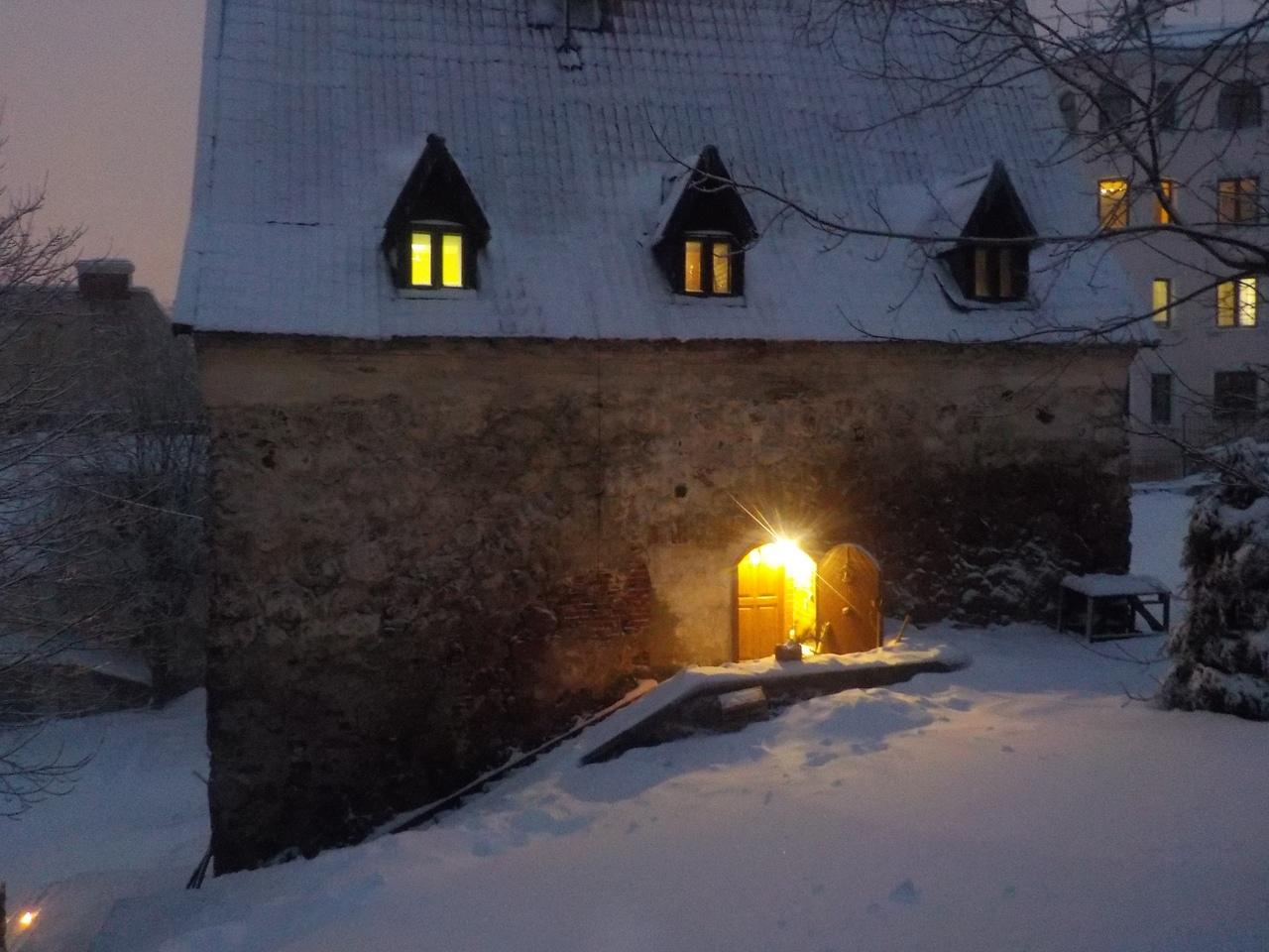 Шведская средневековая архитектура в городе Выборге