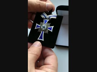 The silver cross of honour of the german mother 3rd reich germany