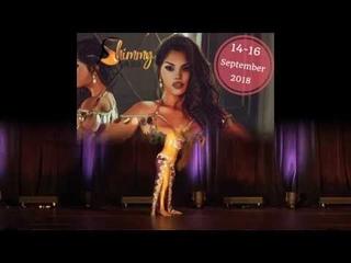 Diana Gnatchenko Baladi Shimmy in 3city 2018 POLAND
