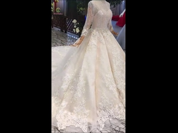 New White High Grade Party Gown