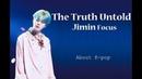 181016 BTS (방탄소년단) 'THE TRUTH UNTOLD' Jimin Focus [4K] BTS Tour in Berlin