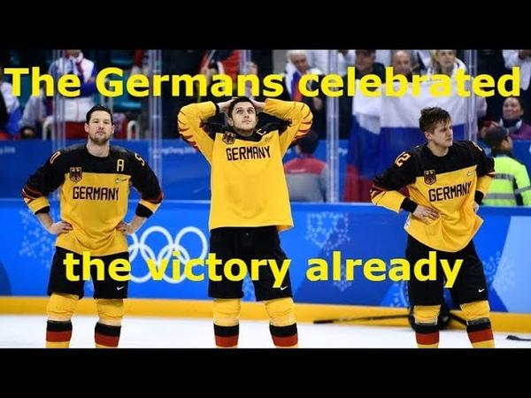 Немцы праздновали уже победу но тут завелась красная машина