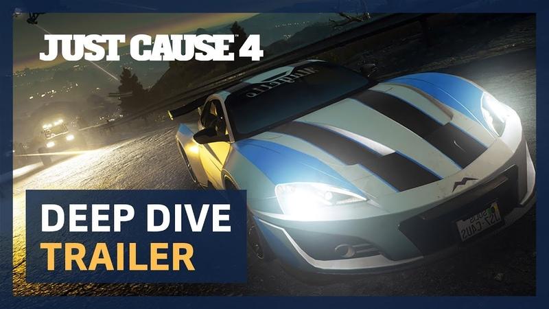 Just Cause 4: Deep Dive Trailer [PEGI]