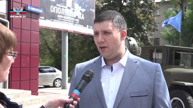 Роман Разум рассказал об идее фильма Ополченочка.