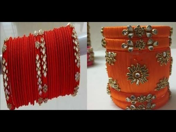 New Making Ideas For Silk Thread Bangles