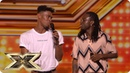 Misunderstood are the duo with the ALL THE MOVES Auditions Week 1 The X Factor UK 2018