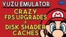 Yuzu Emulator CRAZY FPS Upgrades Disk Shader Cache Added Nintendo Switch Emulation