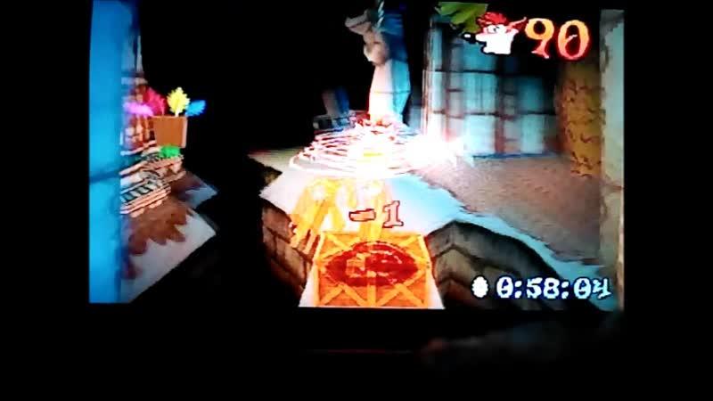 Crash Bandicoot 3: Warped (PAL).Time Trial.Bug Lite.1:02:00. PB