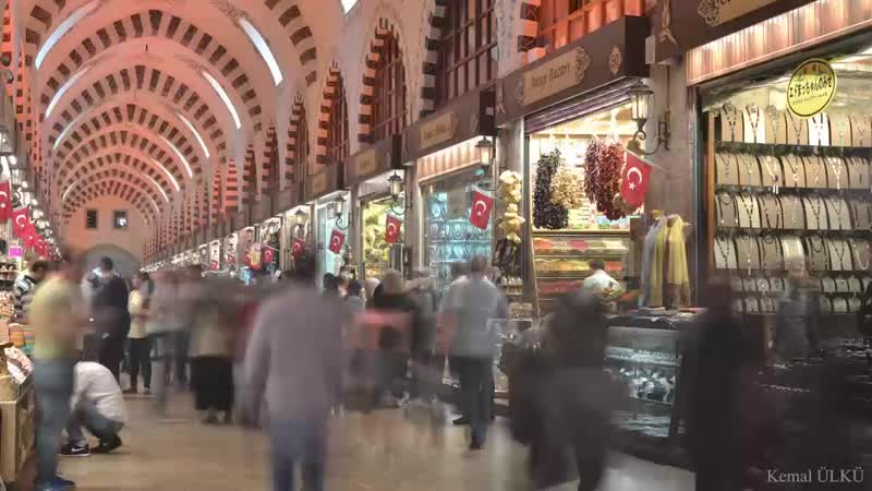 Grand Bazaar Time Lapse İstanbul