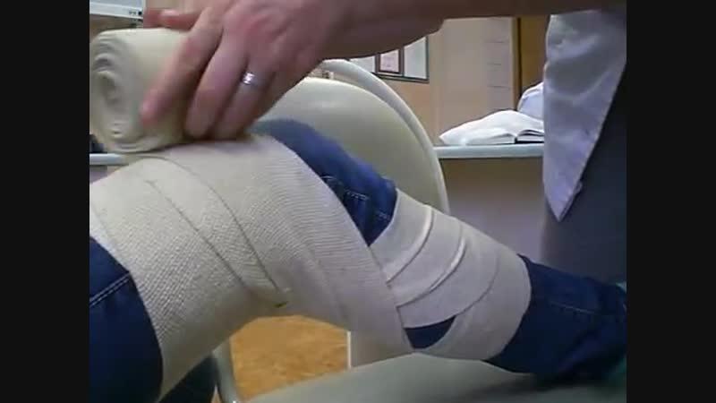 Сходящаяся на коленный сустав