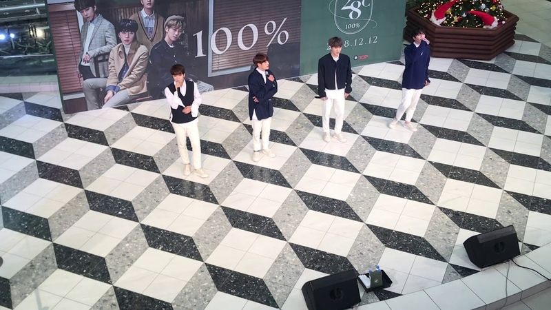 [FANCAM] 181217 100%(백퍼센트) - Monochrome @ Tokyo - Ikebukuro Sunshine City