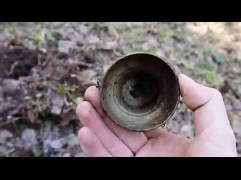 Весенний коп.В поисках монет ранней весной