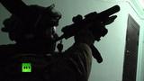 Видео задержания участников подпольной сети по сбору денег для террористов