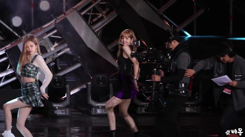 [Фокус на Лису] Выступление BLACKPINK - DDU-DU DDU-DU на концерте «SBS Super Concert».