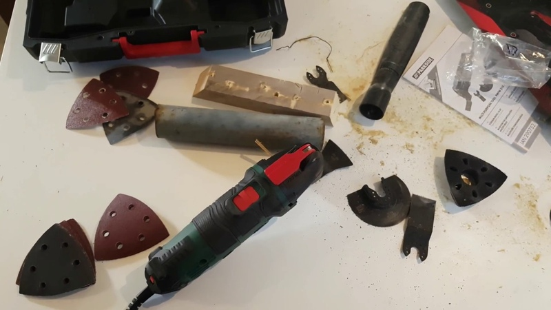 Parkside Multi-Purpose Tool PMFW 310 D2 TESTING REVIEW