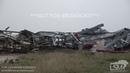 5 24 2019 Canadian Tx Massive wedge tornado and damage Laverne Ok tornado damage home swept clean