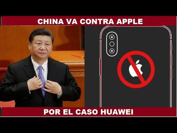 CHINA VA CONTRA APPLE PARA DEFENDER A HUAWEI GOOGLE Android 5G