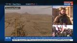 Новости на Россия 24 Репортаж Евгения Поддубного из овобожденной Пальмиры