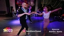 Marco Ivanyk and Anastasia Morozova Salsa Dancing at Moscow MamboMania weekend, Sunday 28.10.2018