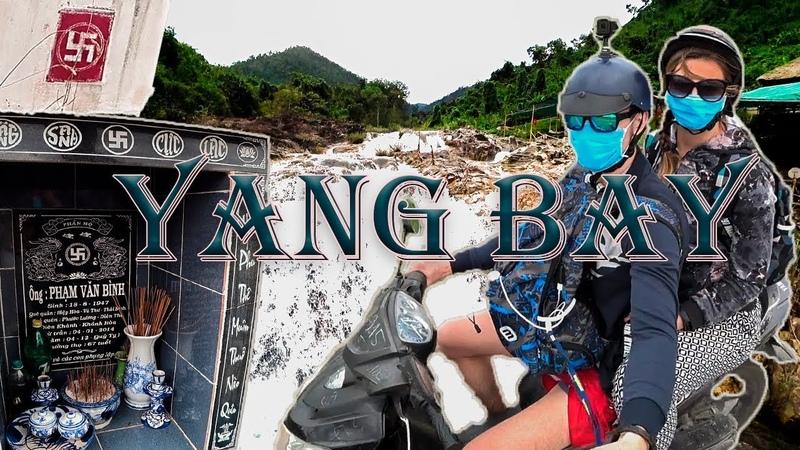 Что за свастика во Вьетнаме ? Yang Bay on the way