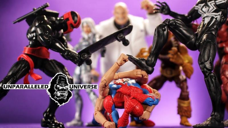 Marvel Legends Spider-Man Kingpin Build a Figure