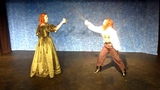 Three Musketeers Lady DeWinter and Sabine sword fight