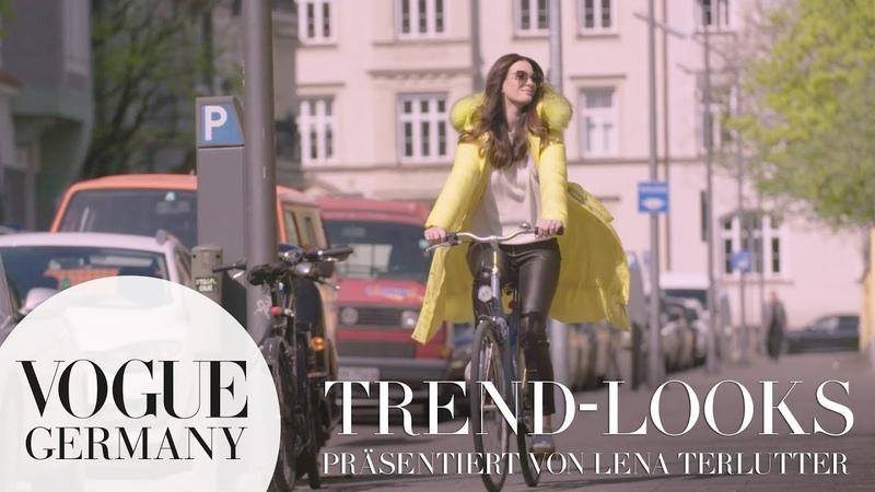 Ein Tag mit Lena Terlutter | Trend-Looks Herbst- /Winter 2018 | VOGUE x Airfield