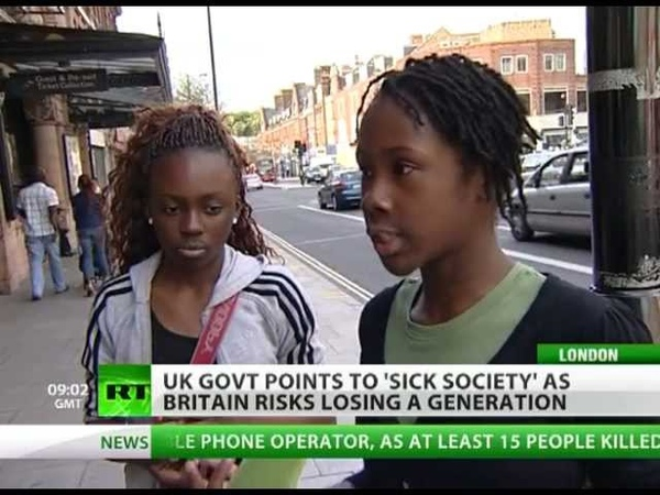 System Shock: UK riots blamed on 'sick society' as new govt cuts bite