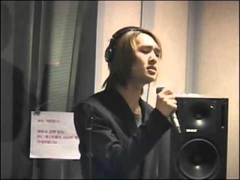 샤이니(SHINee)Onew Singing 이적 다행이다 101018