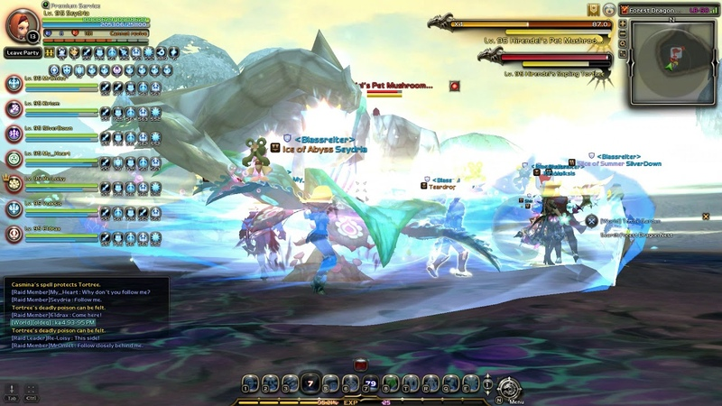 Forest Dragon nest 1stage first run