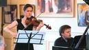 Николай Метнер - Соната для скрипки и фортепиано №1 - Анна Трухина, Михаил Дубов Париж, 2017