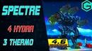 The Epic Battle of War Robots . Spectre 4 Hydra 3 Thermo Reactor. Не отступать и не сдаваться!
