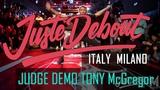 Juste Debout ITALY MILANO 2019 JUDGE DEMO Tony McGregor HOUSE #JusteDeboutItaly #JusteDebout #dance